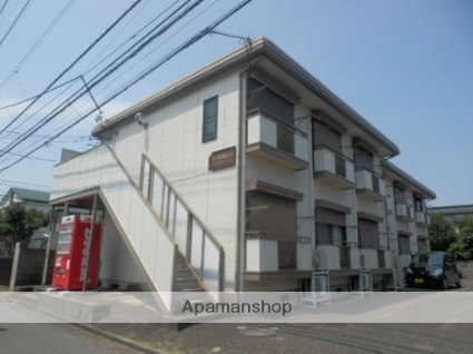 東京都立川市、矢川駅徒歩15分の築25年 2階建の賃貸アパート