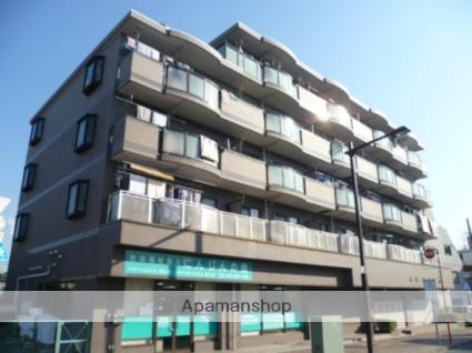 東京都立川市、玉川上水駅徒歩2分の築22年 5階建の賃貸マンション