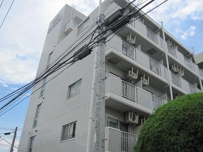 東京都日野市、日野駅徒歩15分の築25年 5階建の賃貸マンション