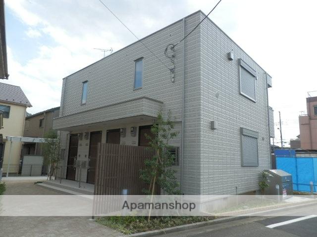 東京都東大和市、玉川上水駅徒歩23分の築3年 2階建の賃貸アパート