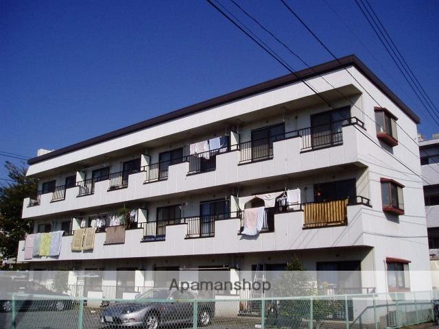 東京都国立市、矢川駅徒歩18分の築28年 3階建の賃貸マンション
