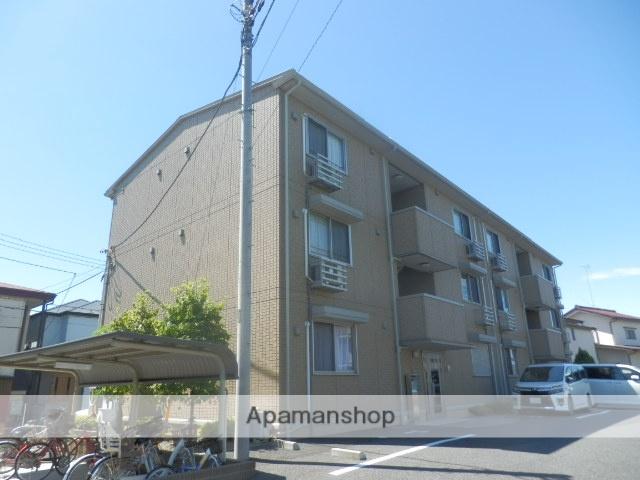 東京都東大和市、東大和市駅徒歩14分の築10年 3階建の賃貸アパート