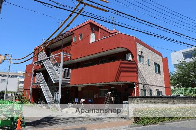 東京都三鷹市、吉祥寺駅徒歩34分の築40年 3階建の賃貸マンション