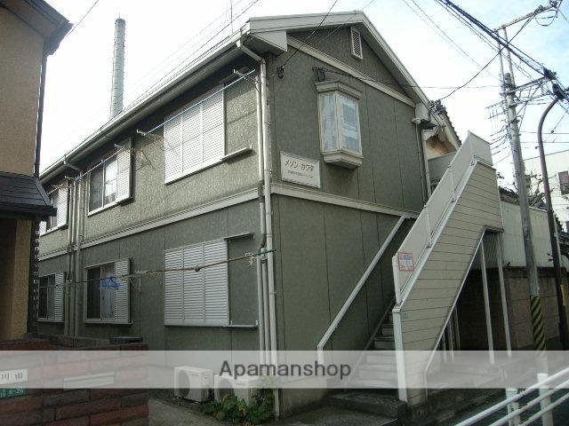 東京都武蔵野市、三鷹駅徒歩24分の築27年 2階建の賃貸アパート