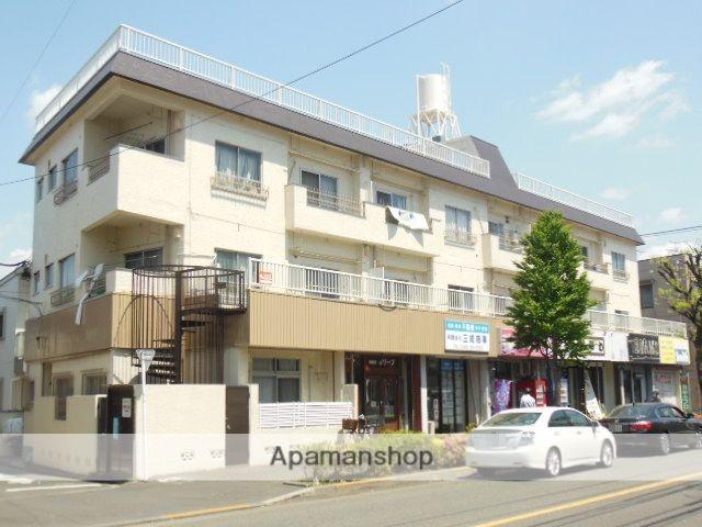 東京都武蔵野市、三鷹駅徒歩12分の築43年 3階建の賃貸マンション