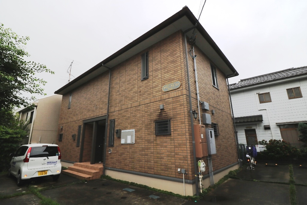 東京都三鷹市、三鷹駅バス18分天文台裏下車後徒歩4分の築27年 2階建の賃貸テラスハウス