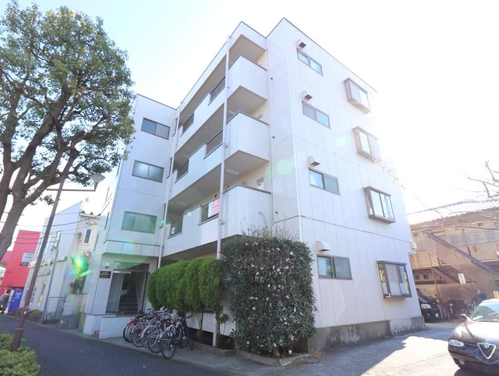 東京都三鷹市、三鷹台駅徒歩29分の築29年 4階建の賃貸マンション