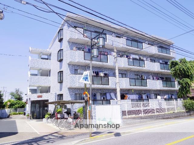 東京都三鷹市、三鷹駅徒歩10分の築24年 4階建の賃貸マンション