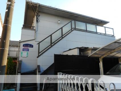 東京都調布市、調布駅徒歩19分の築20年 2階建の賃貸アパート