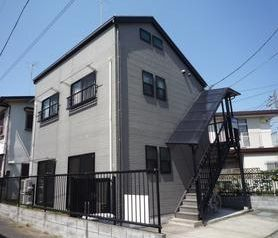 東京都調布市、調布駅徒歩17分の築14年 2階建の賃貸アパート