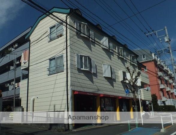 東京都三鷹市、三鷹駅徒歩37分の築30年 3階建の賃貸マンション