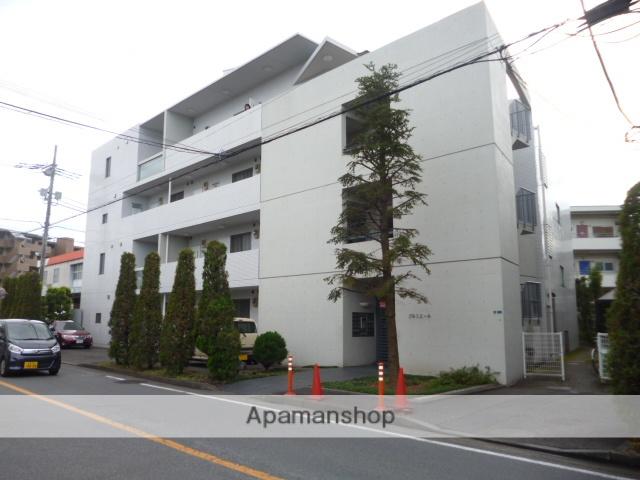 東京都三鷹市、調布駅徒歩20分の築16年 4階建の賃貸マンション