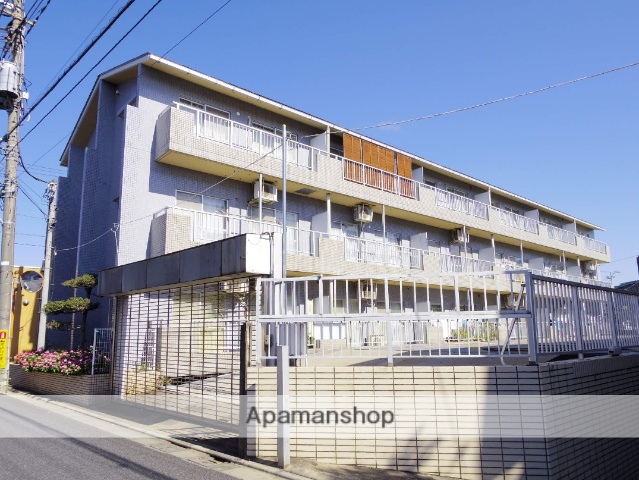 東京都三鷹市、武蔵境駅徒歩24分の築23年 3階建の賃貸マンション