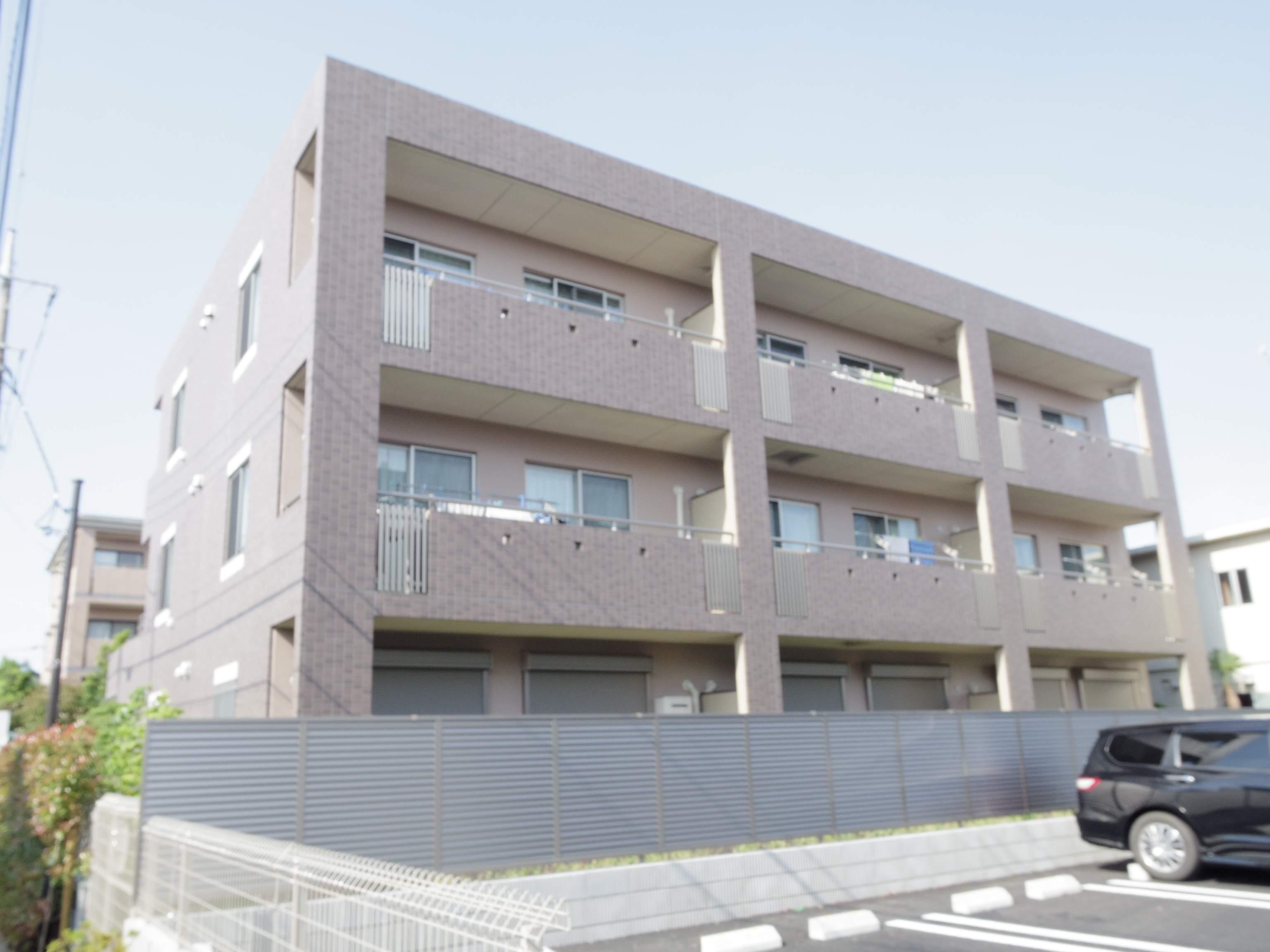 東京都武蔵野市、三鷹駅徒歩25分の築1年 3階建の賃貸マンション