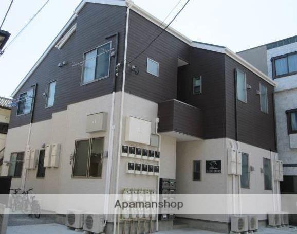東京都三鷹市、武蔵境駅徒歩16分の新築 2階建の賃貸アパート