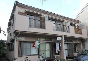 東京都武蔵野市、三鷹駅徒歩15分の築30年 2階建の賃貸アパート