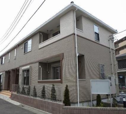 東京都三鷹市、吉祥寺駅バス26分大沢下車後徒歩12分の築3年 2階建の賃貸アパート