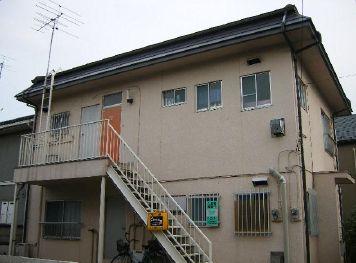 東京都三鷹市、三鷹駅小田急バスバス13分山中下車後徒歩3分の築33年 2階建の賃貸アパート
