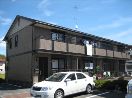 東京都府中市、分倍河原駅徒歩23分の築15年 2階建の賃貸テラスハウス