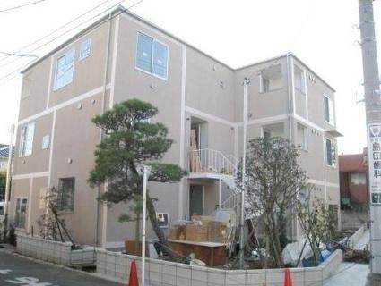 東京都国分寺市、北府中駅徒歩32分の築2年 3階建の賃貸アパート
