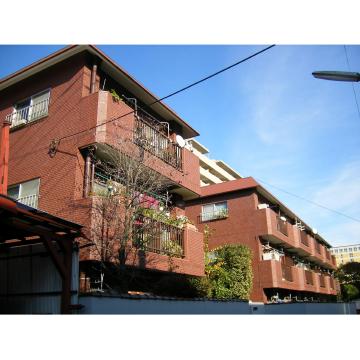 東京都三鷹市、三鷹駅バス11分三鷹農協前下車後徒歩3分の築35年 3階建の賃貸マンション