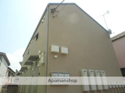 東京都調布市、布田駅徒歩27分の築4年 2階建の賃貸アパート