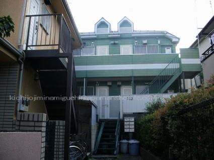 東京都三鷹市、久我山駅徒歩22分の築29年 2階建の賃貸アパート