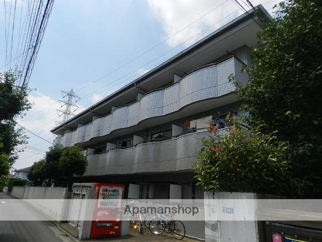 東京都三鷹市、吉祥寺駅徒歩23分の築20年 3階建の賃貸マンション