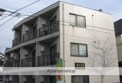 東京都小金井市、武蔵小金井駅徒歩18分の築25年 3階建の賃貸マンション
