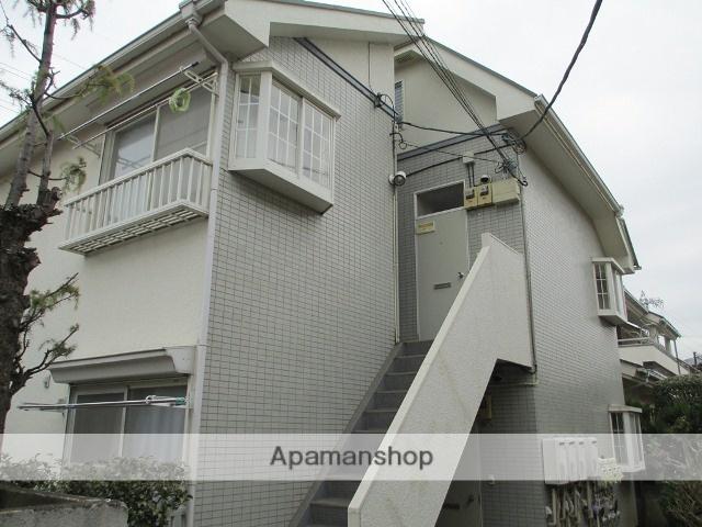東京都三鷹市、東小金井駅徒歩27分の築26年 2階建の賃貸アパート