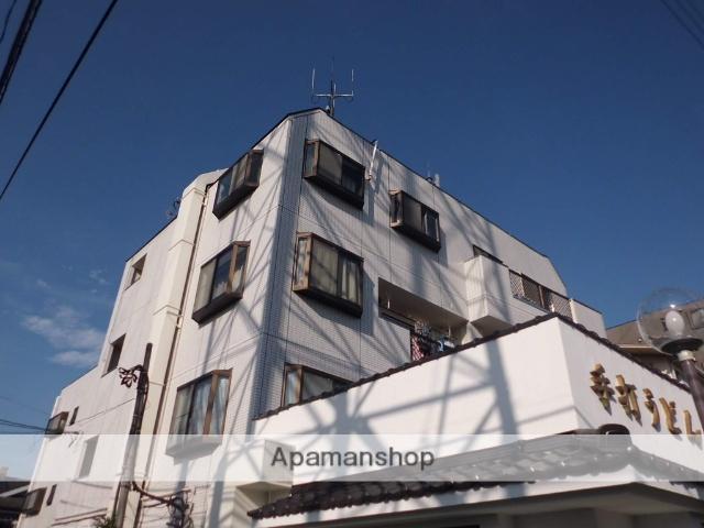 東京都三鷹市、三鷹駅バス13分二中前下車後徒歩1分の築26年 4階建の賃貸マンション