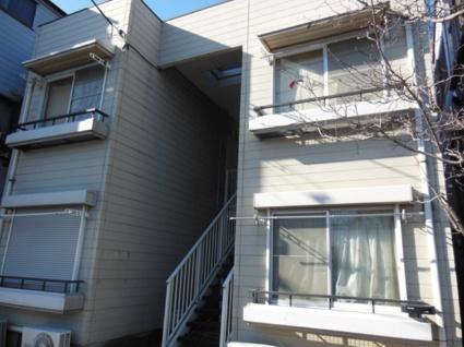 東京都武蔵野市、三鷹駅徒歩23分の築25年 2階建の賃貸アパート