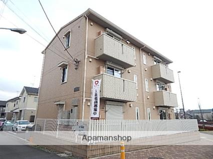 東京都立川市、中神駅徒歩24分の築5年 3階建の賃貸アパート