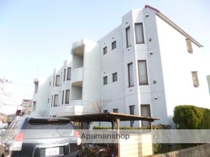 東京都立川市、玉川上水駅徒歩9分の築28年 3階建の賃貸マンション