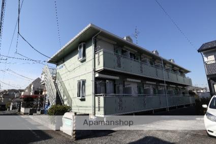 東京都立川市、東大和市駅徒歩20分の築24年 2階建の賃貸アパート