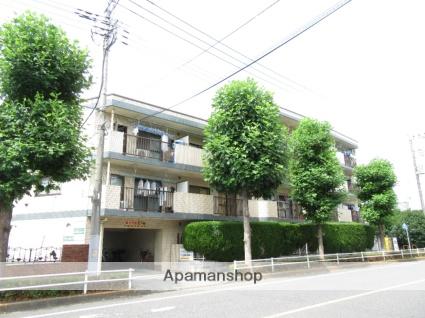 東京都東大和市、東大和市駅徒歩12分の築25年 4階建の賃貸マンション