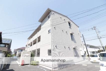 東京都立川市、玉川上水駅徒歩12分の築2年 3階建の賃貸アパート