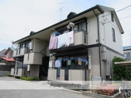 東京都立川市、玉川上水駅徒歩19分の築21年 2階建の賃貸アパート