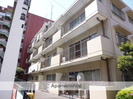 東京都国分寺市、西国分寺駅徒歩2分の築34年 4階建の賃貸マンション