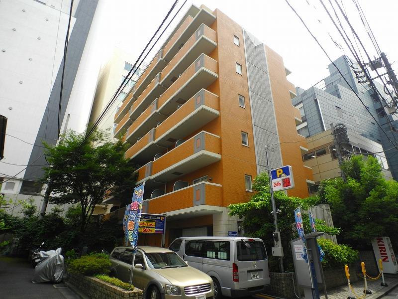 東京都新宿区、四ツ谷駅徒歩8分の築18年 8階建の賃貸マンション