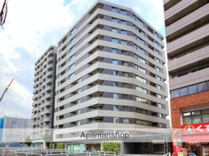 東京都新宿区、若松河田駅徒歩11分の築6年 13階建の賃貸マンション