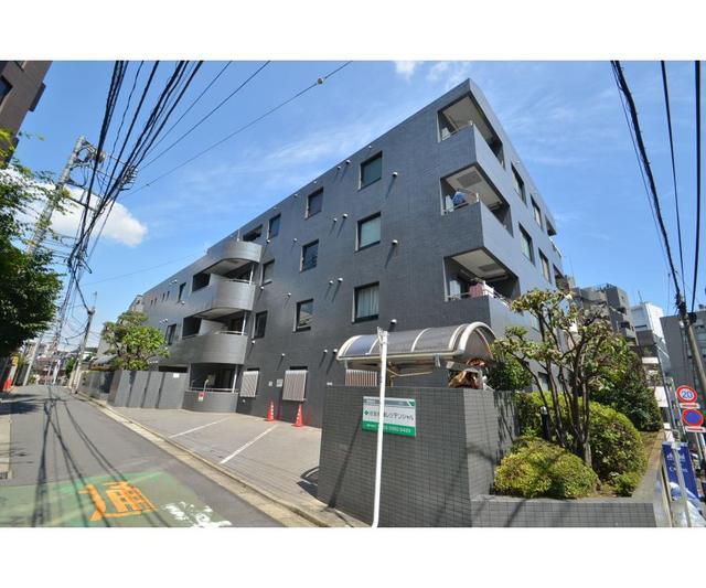 東京都新宿区、四谷三丁目駅徒歩10分の築25年 4階建の賃貸マンション