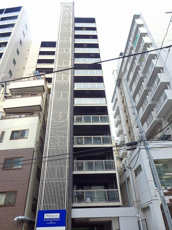 東京都新宿区、若松河田駅徒歩11分の築8年 13階建の賃貸マンション