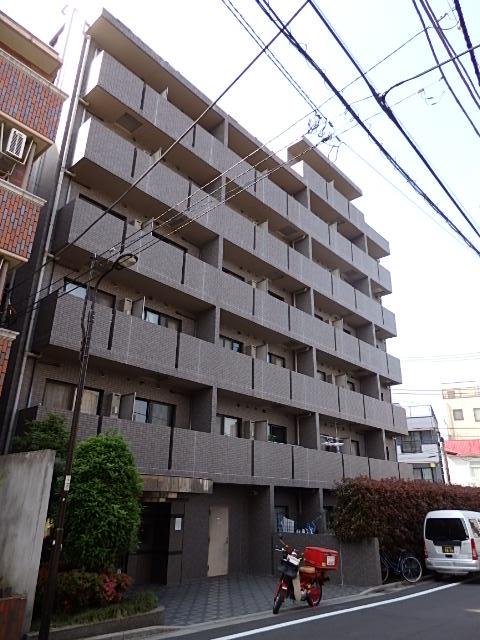 東京都新宿区、早稲田駅徒歩3分の築14年 8階建の賃貸マンション