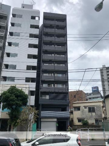 東京都新宿区、神楽坂駅徒歩8分の築13年 11階建の賃貸マンション