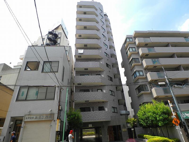 東京都新宿区、早稲田駅徒歩8分の築16年 13階建の賃貸マンション