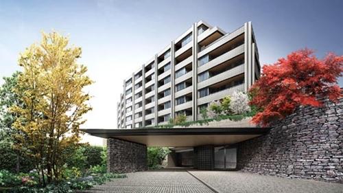 東京都新宿区、信濃町駅徒歩8分の築3年 7階建の賃貸マンション
