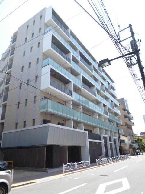 東京都中央区、越中島駅徒歩19分の築1年 8階建の賃貸マンション