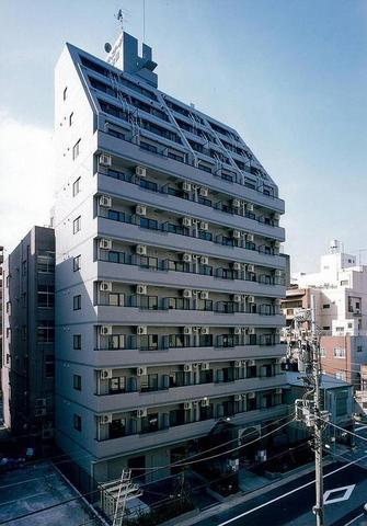 東京都中央区、茅場町駅徒歩9分の築17年 12階建の賃貸マンション