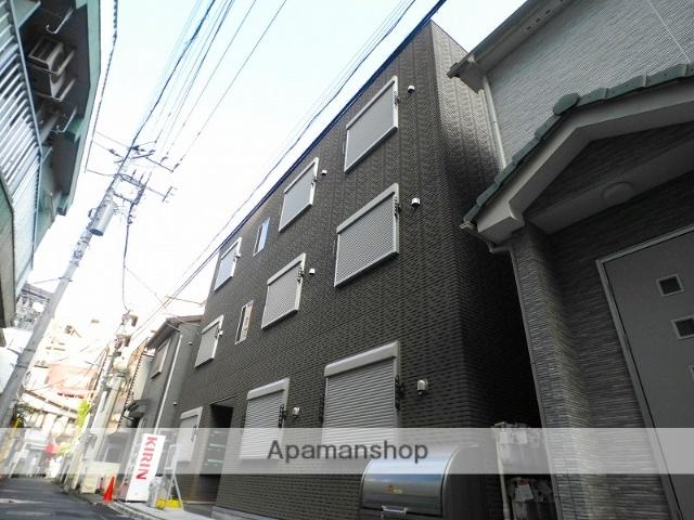 東京都新宿区、早稲田駅徒歩13分の築1年 3階建の賃貸マンション